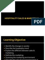 Section 3 - Hospitality Marketing & Sales