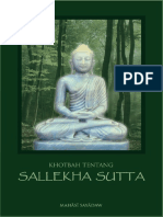 Sallekha Sutta PDF