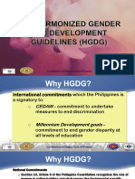 2. the Harmonized Gender and Development Guidelines (HGDG)