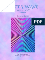 Theta Wave Oracle Companion Booklet