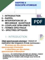 Spectroscopie atomiqu