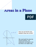 Areas in a Plane