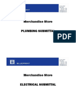 Submittal Cover Page