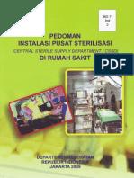 pedoman instalasi pusat sterilisasi di RS.pdf