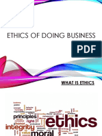 Ethics of Doing Business