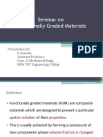 Functionally Graded Materials ppt