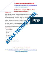 Design and Performance Analysis of Three-Phase Solar PV Integrated UPQC