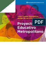 PEM Proyecto Educativo Metropolitano.