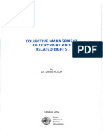 Collective Management of Copyright - WIPO
