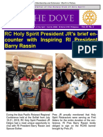 RC Holy Spirit THE DOVE Vol. Xi No. 2  July 25, 2018