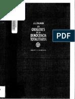 Los orígenes de la democracia totalitaria - J. L. Talmon