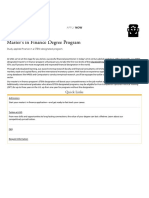 _Master's in Finance Degree Program - School of Business - University of San Diego