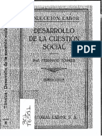 Desarrollo de la cuestión social - Ferdinand Tonnies