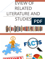 Purposes of Review of Related Literature