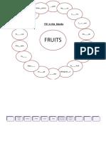 fruits bubble map.ppt