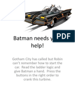 Lab Exer 0A Batman Needs Your Help!