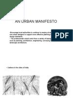 An Urban Manifesto - 124