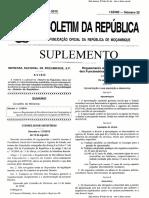 Decreto n.º 27-2010 - Previdencia Social Funcionarios e Agentes Do Estado