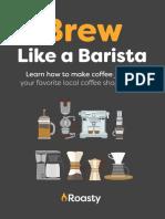 Brew Like a Barista