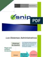Tema6 Presentacion SNIP 2010