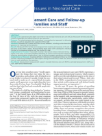 NICU Bereavement Care and Follow-up Support for Families and Staff