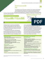 Development of Environmentally Friendly Package