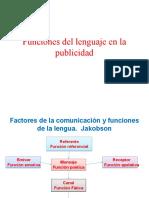 funciones y publicidad