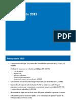 Presupuesto 2019