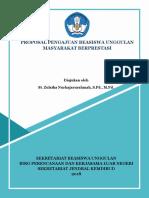 Proposal BEASISWA UNGGULAN KEMDIKBUD 2018