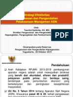 Strategi Efektivitas Pengawasan Dan Pengendalian Pelaksanaan Manajemen Asn