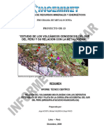 A6479 Informe Técnico POI GR13 2009 Volcanicos Epitermales Sur Del Perú Acosta