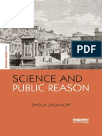 (the Earthscan Science in Society Series) Sheila Jasanoff-Science and Public Reason-Routledge (2012)