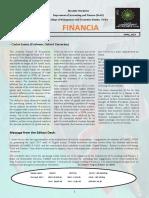 Financia Newsletter Volume 1 Issue 4