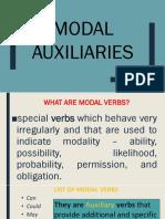 Modal Aux. Lesson