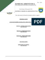 """ICA 908-1 - """"Cerimonial Militar Do Comando Da Aeronáutica - BCA 104 30-05-2012.Ps"""