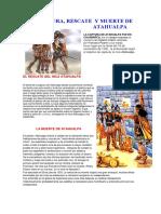 La Captura y Muerte de Atahualpa