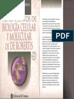 Robertis- Fundamentos de Biologia Celular y Molecular