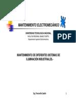 Item 2.3- Mantenimiento de Diferentes Sistemas de Iluminación Industriales