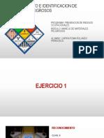 Ejemplos Reconocimiento e Identificacion de Materiales Peligrosos