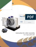 A0312624 - -En- Plm Manual Roller Assembly for Compact Pellet Mill V05