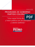 Programa de Gobierno PC