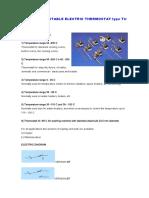 Termostato TUV (DT y ST)