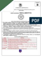 Regulamentos - Versao b