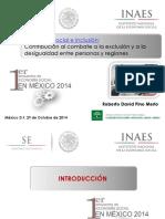 1 Economía Social e Inclusión David Pino Merlo