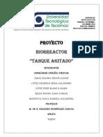 Biorreactor Tanque Agitado