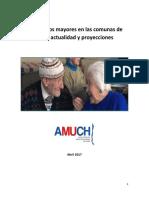 Estudio Adulto Mayor en Las Comunas de Chile Proyecciones