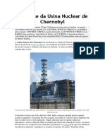 Acidente Da Usina Nuclear de Chernobyl