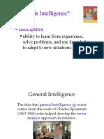 1.6) Intelligence