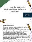 CONSTRUCCIÓN DE LECTORES Y ESCRITORES
