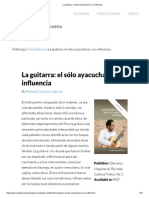La Guitarra_ El Sólo Ayacuchano y Su Influencia